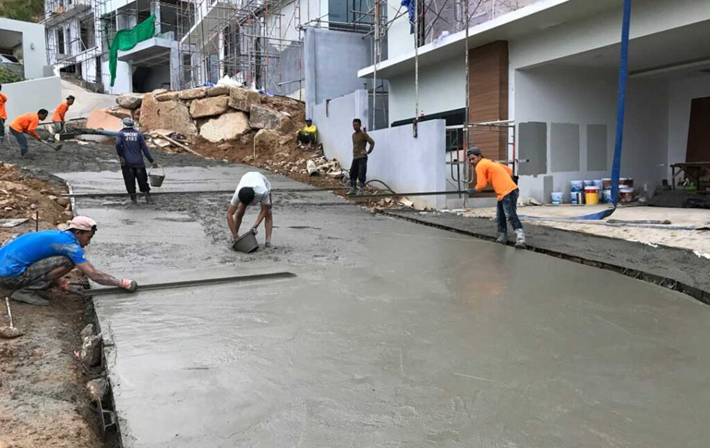 Road Construction Samui